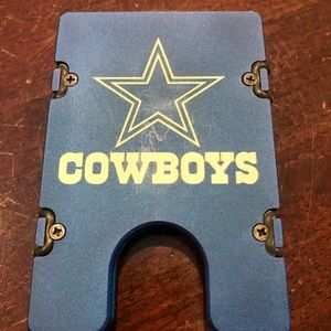 Dallas Cowboys Billet Vault Brand Wallet